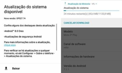 Moto Z2 Play Oreo update to arrive soon, beta build is live in Brazil