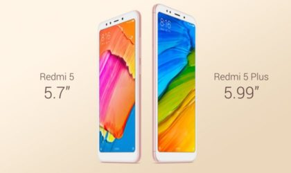 Xiaomi Redmi 5 and 5 Plus to be released globally in February 2018