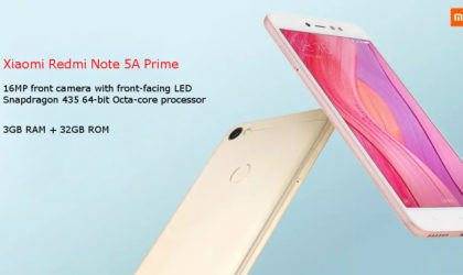 Official TWRP recovery available for Xiaomi Redmi 5A, Note 5A Prime/Y1, and Note 5A/Y1 Lite