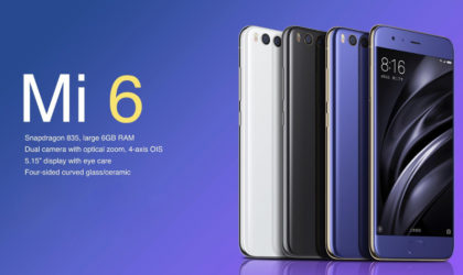 Xiaomi Mi 6 Android 8.0 Oreo beta update released as MIUI 8.1.11