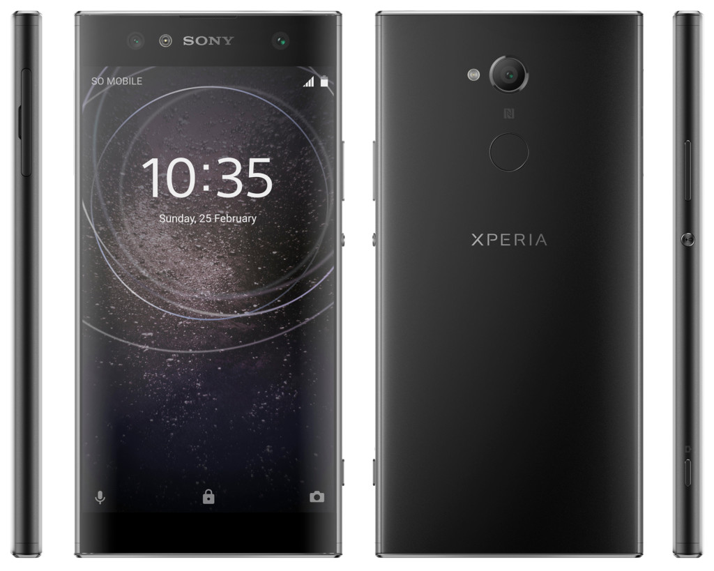 Sony Xperia XA2, XA2 Ultra and L2 press renders leaked