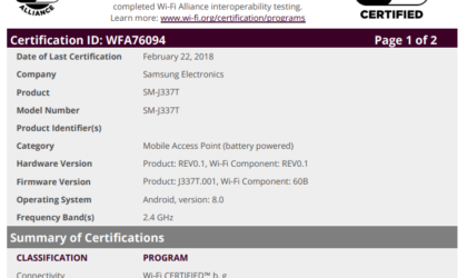 U.S.-bound Galaxy J3 2018 variants leak out with Android Oreo [FCC clears T-Mobile variant]