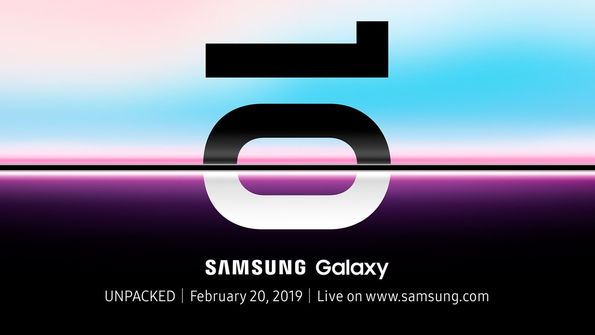 Galaxy S10 launch Feb 20