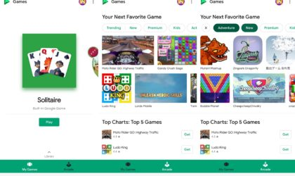 Google Play games introduces Arcade section in latest update [v5.5.72 APK download]