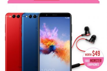 Honor 7X Red Limited Edition