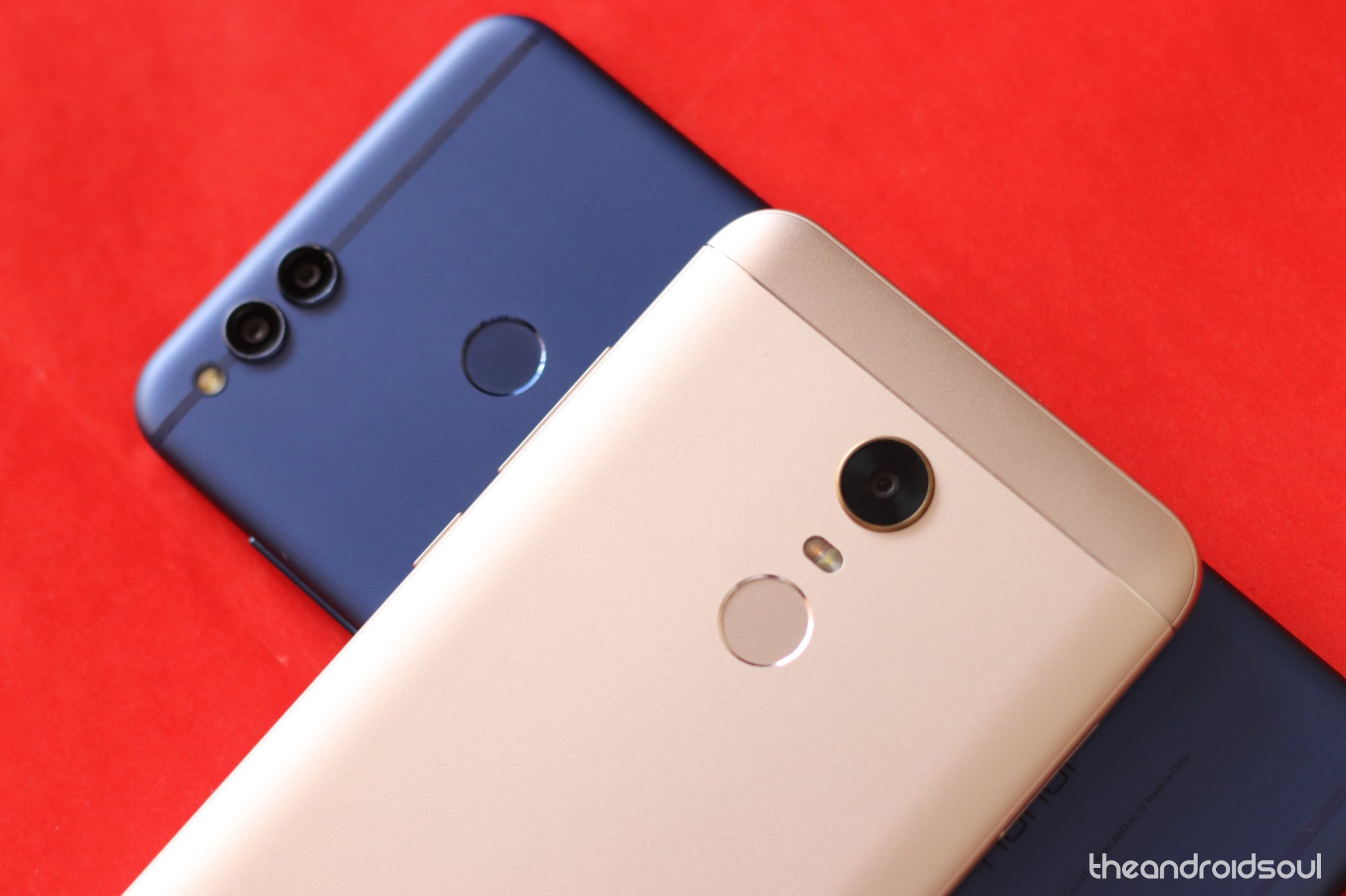 redmi 5 plus and Honor 7x comparison