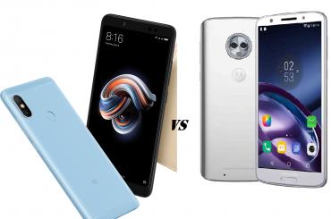 Redmi Note 5 Pro vs Moto G6
