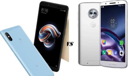 Redmi Note 5 Pro vs. Moto G6 and Moto G6 Plus