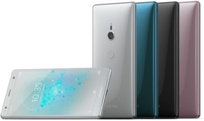 Sony joins the 18:9 club with Xperia XZ2 and XZ2 Compact