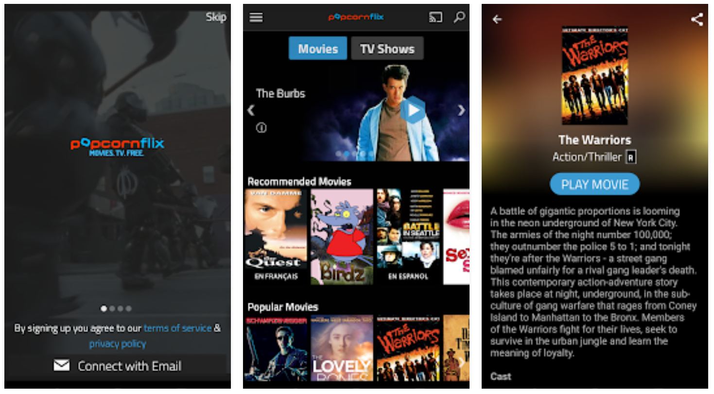 best app to watch new movies on android