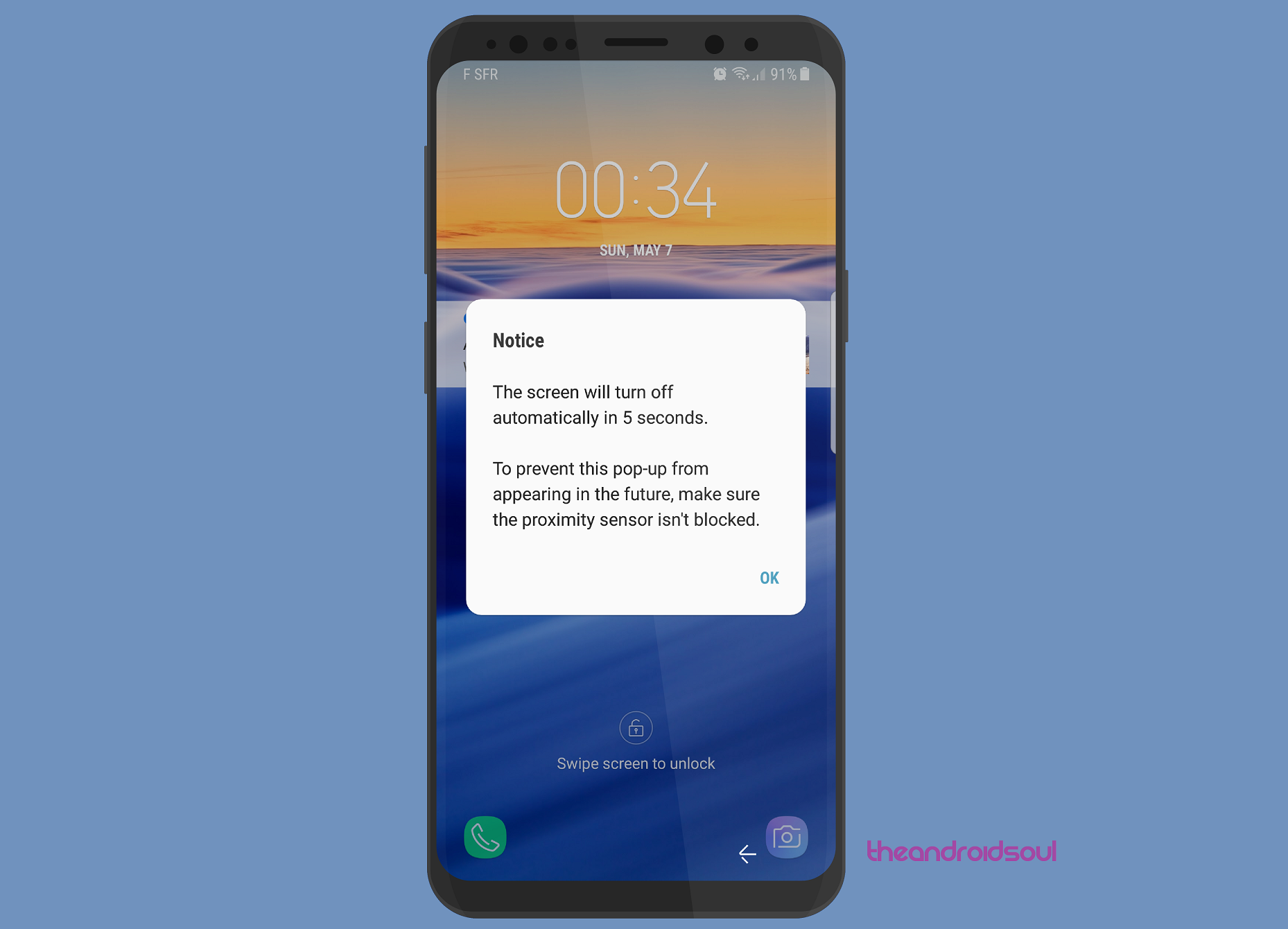 Facing proximity sensor issues on your Galaxy S8? Here's a possible fix