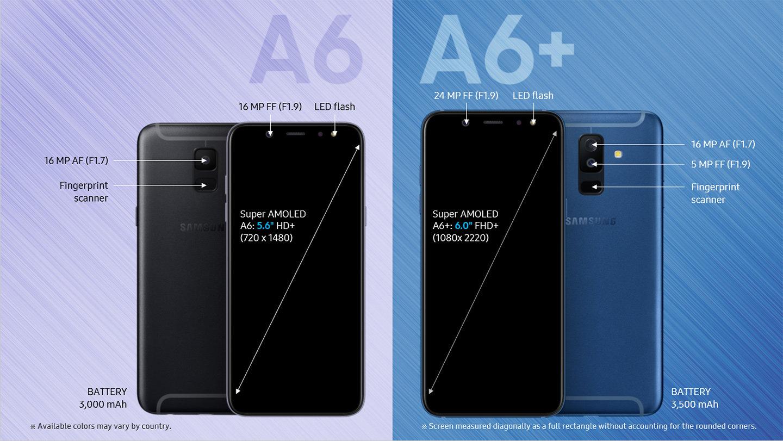 Galaxy-A6-vs-Galaxy-A6-Plus