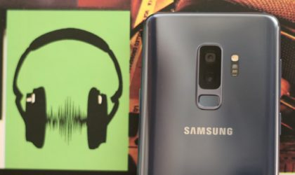 How to fix the loud beeping noise coming out problem on the Galaxy S8, S9 and Note 8