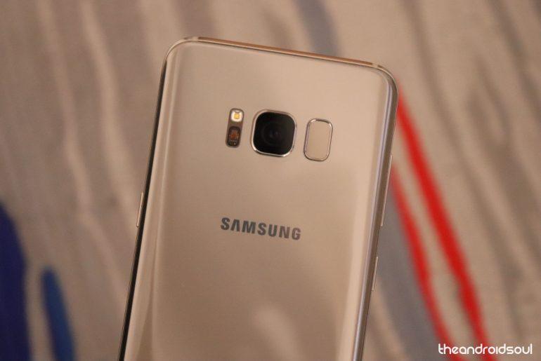 Samsung Galaxy S8+ Update
