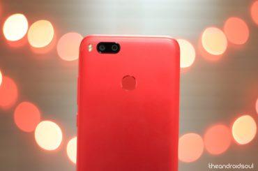 Xiaomi Mi A1 firmware