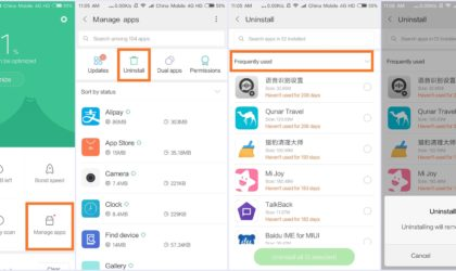 Xiaomi's MIUI9 8.3.8 makes batch uninstalling apps a painless exercise