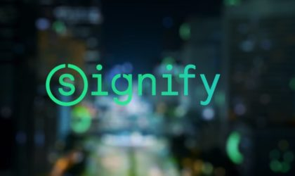 Signify is the new brand name of Philips Lighting, the maker of Hue smart bulbs
