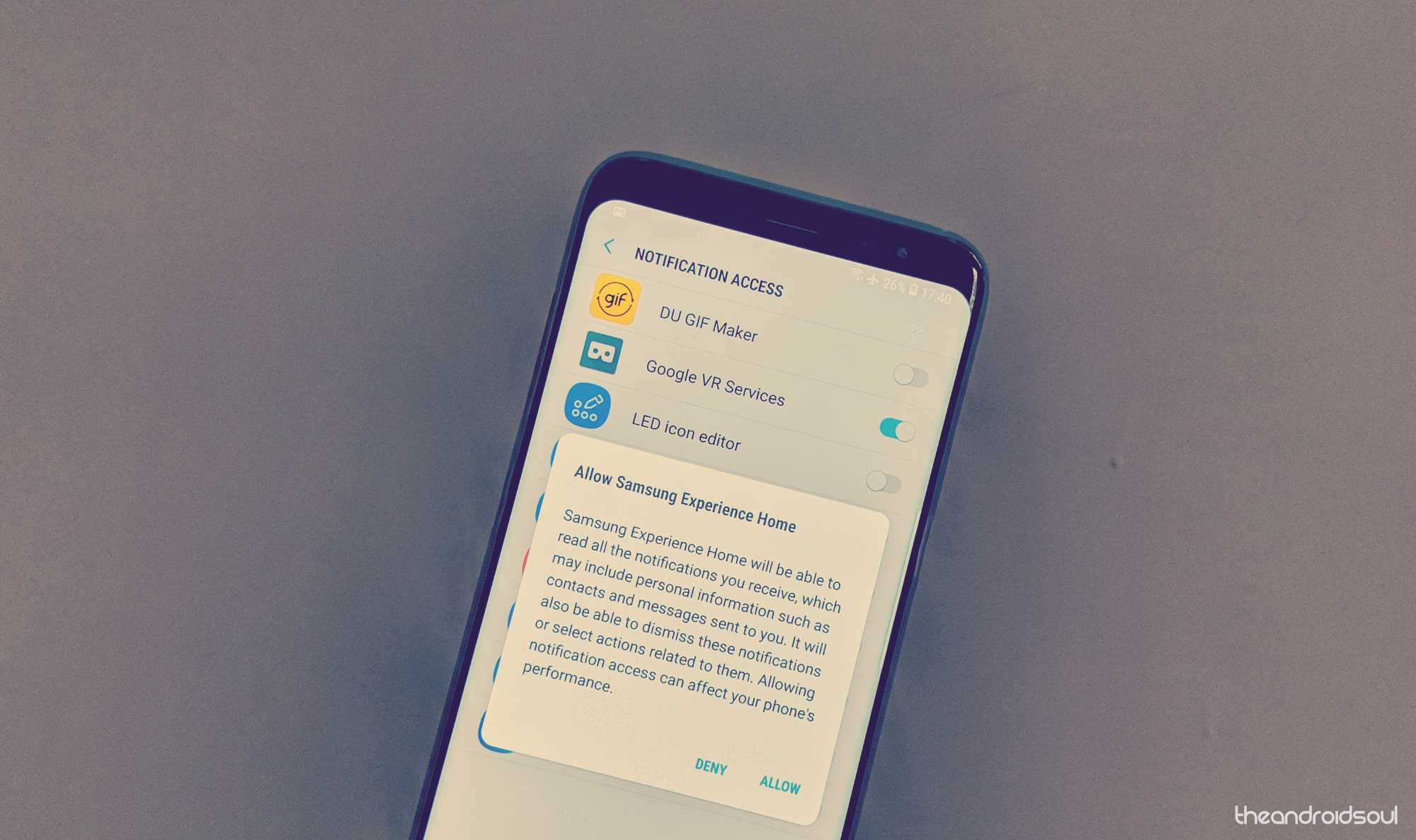How to fix Notification badge icon problem on the Galaxy S9