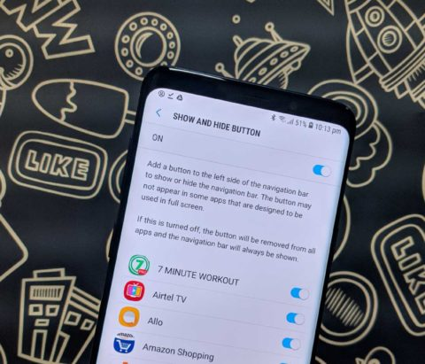 How to hide Status and Navigation bar in all apps on your Android device