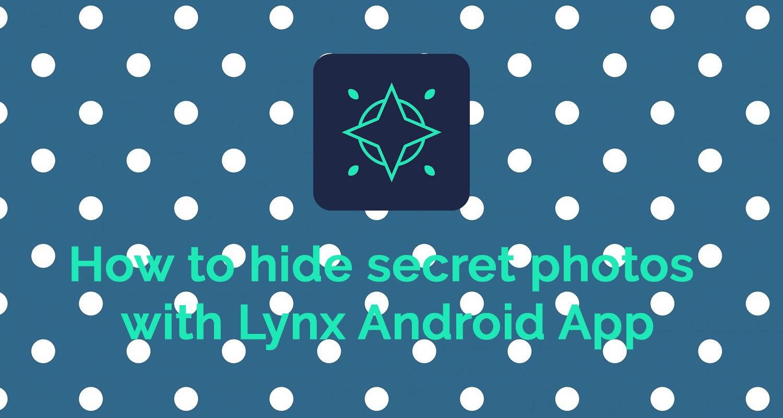 hide secret photos