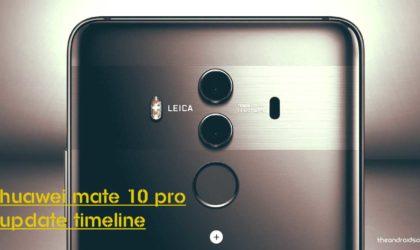 Huawei Mate 10 gets Face Unlock via an OTA update