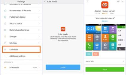 Xiaomi introduces Homescreen Lite mode in latest update