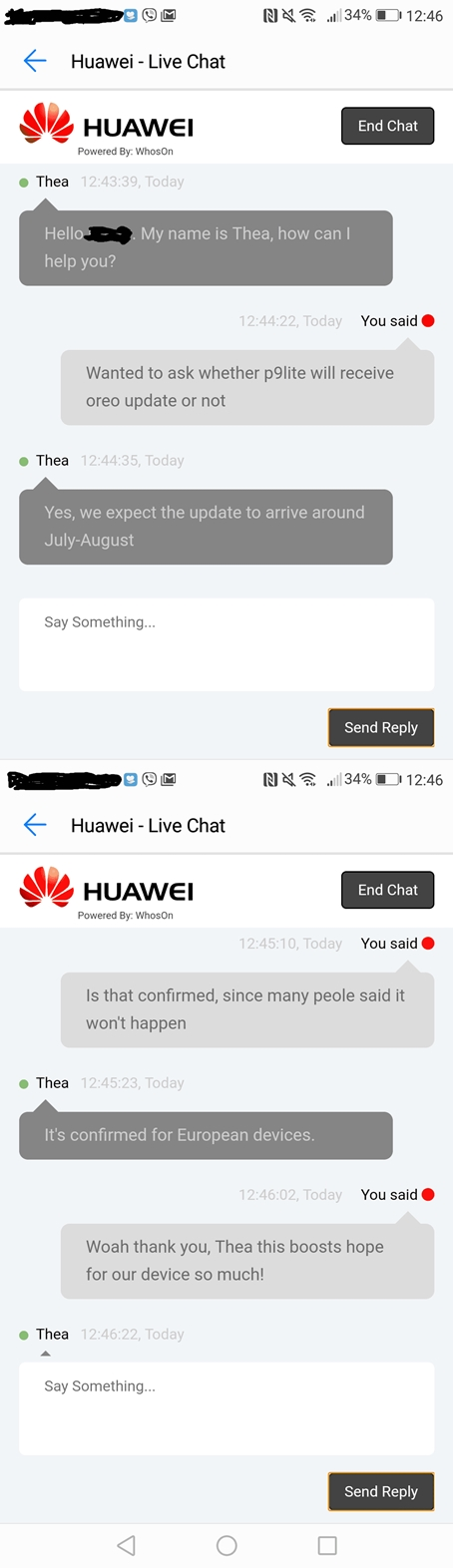 Huawei P9 Lite 2017 (Honor 8 Lite) confirmed to receive