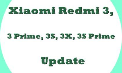 Xiaomi Redmi 3 Oreo update: MIUI Global Stable ROM V9.5.2 for Redmi 3/Prime released!