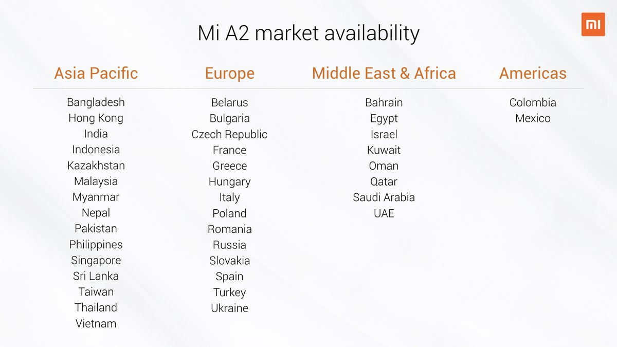 Xiaomi-Mi-A2-and-A2-Lite-availability