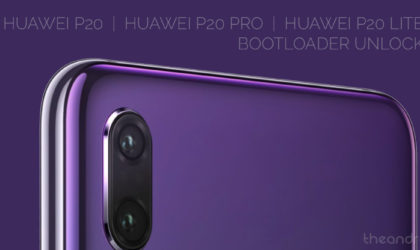 How to unlock bootloader of your Huawei P20, Huawei P20 pro and Huawei P20 Lite