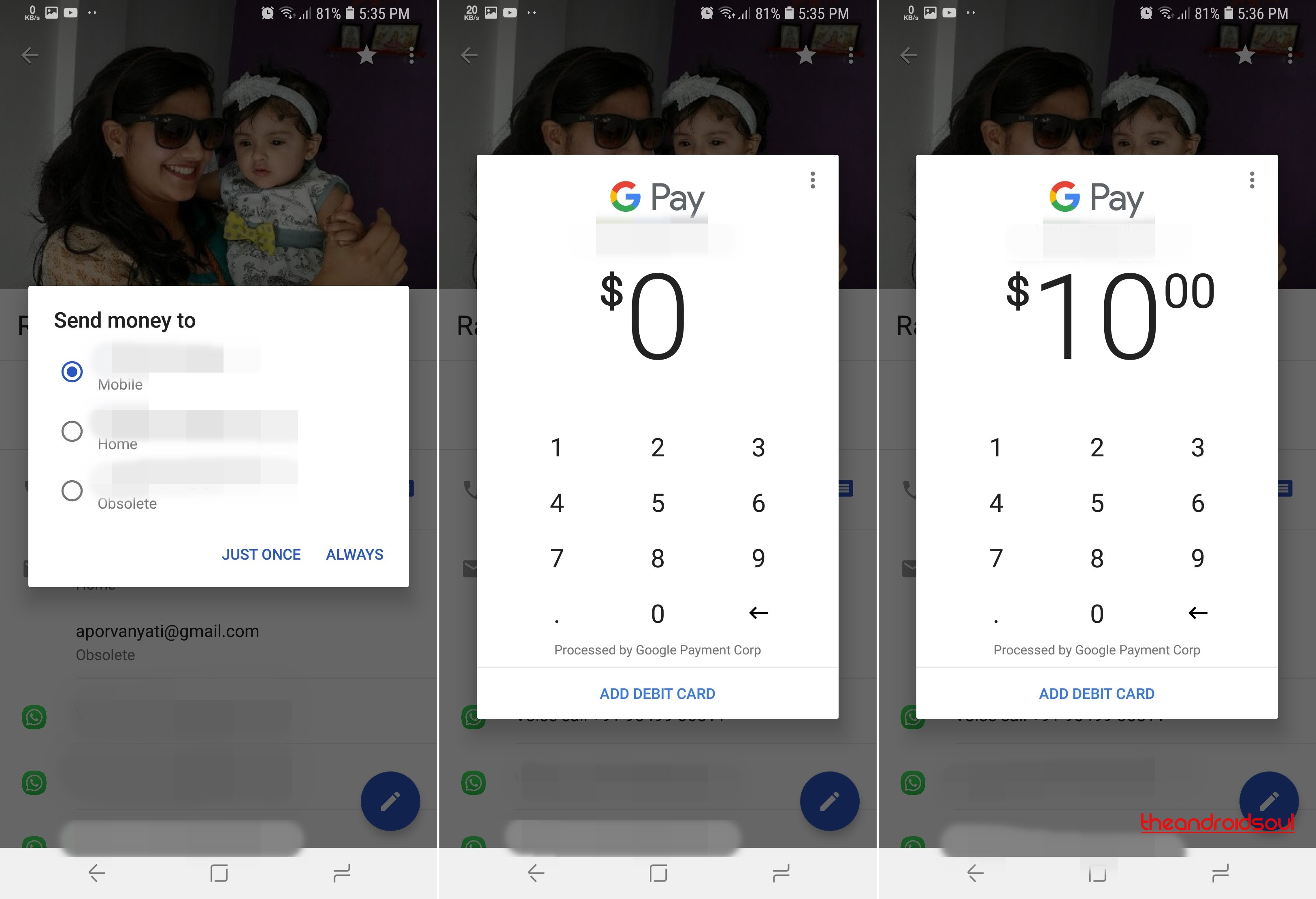 Google is testing payments system in India to allow sending money