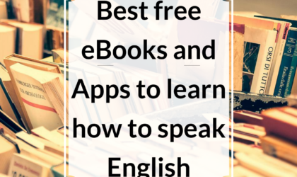Best free eBooks and apps to learn how to speak English