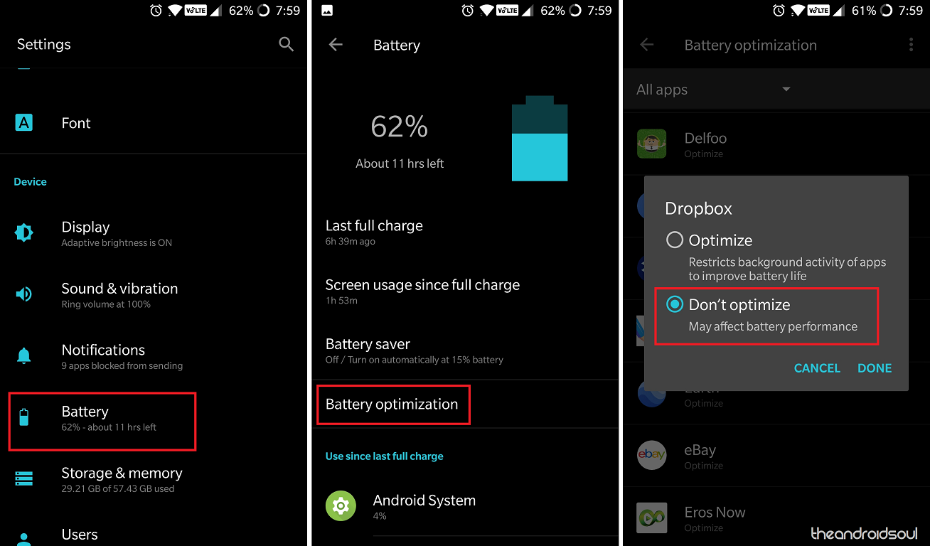 How to fix delayed notifications problem on Android