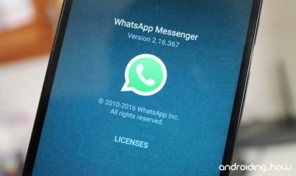 How to set an audio file as a WhatsApp Status message