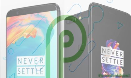 Android P beta for OnePlus 5 and 5T to arrive later this year