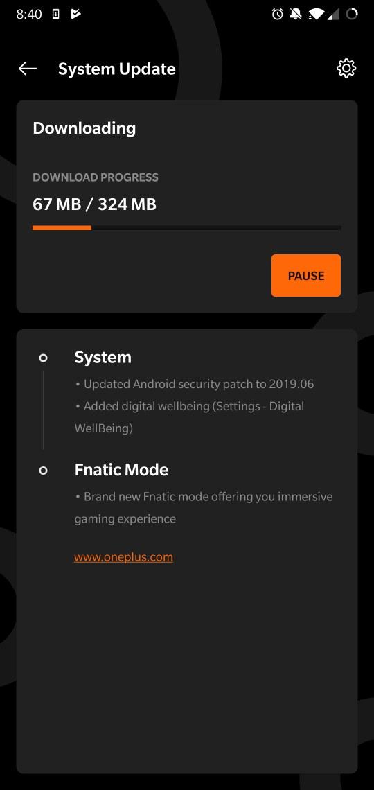 OnePlus 6 open beta 23 update