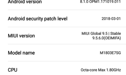 Android 8.1 Oreo for the Redmi Note 5 now rolling out as OTA (MIUI 9.5.6)