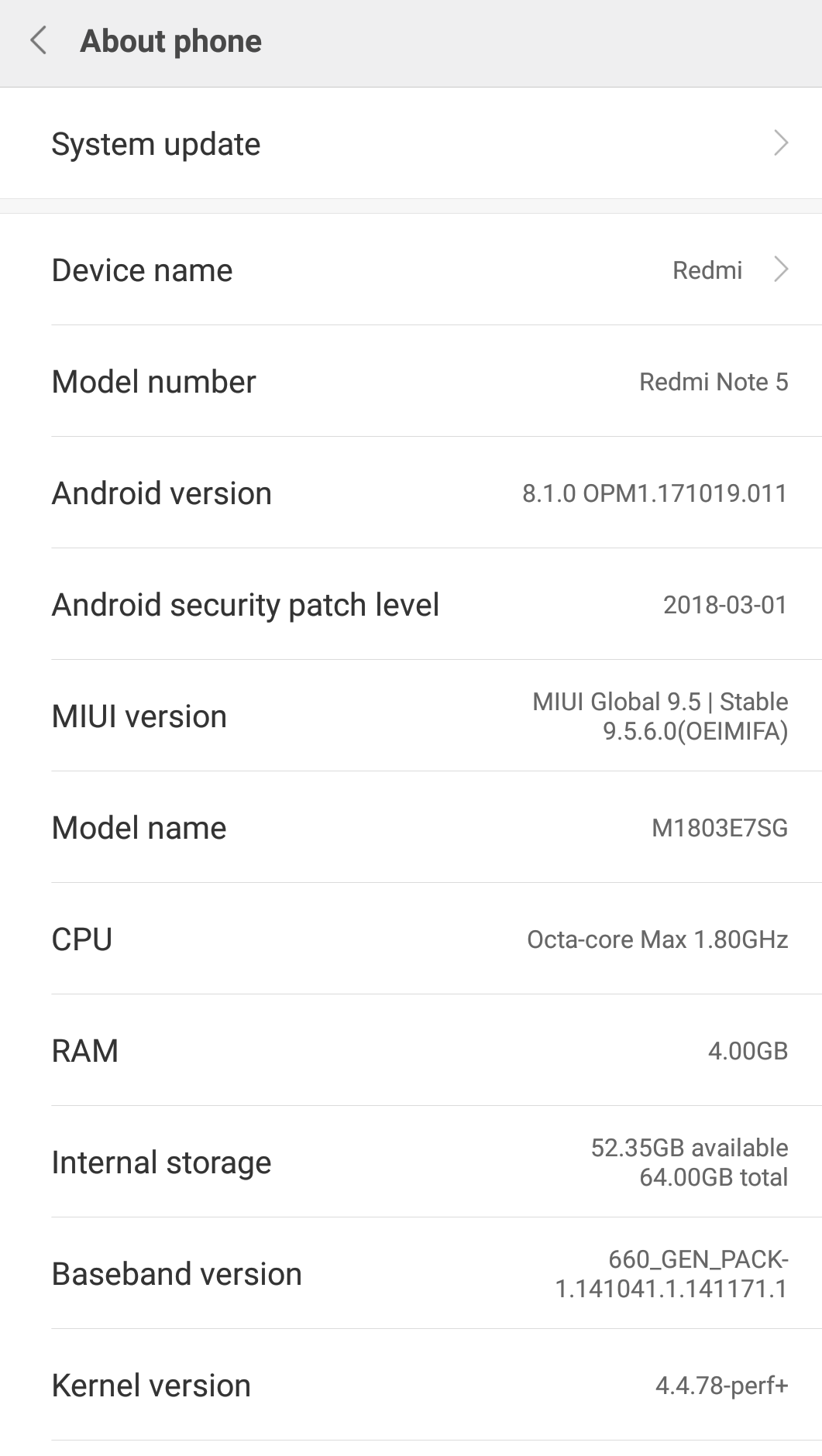 xiaomi oreo update  redmi note 5 gets android 8 1 update