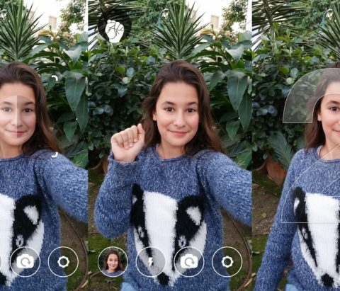 How to use gestures for taking selfies hands free on Android