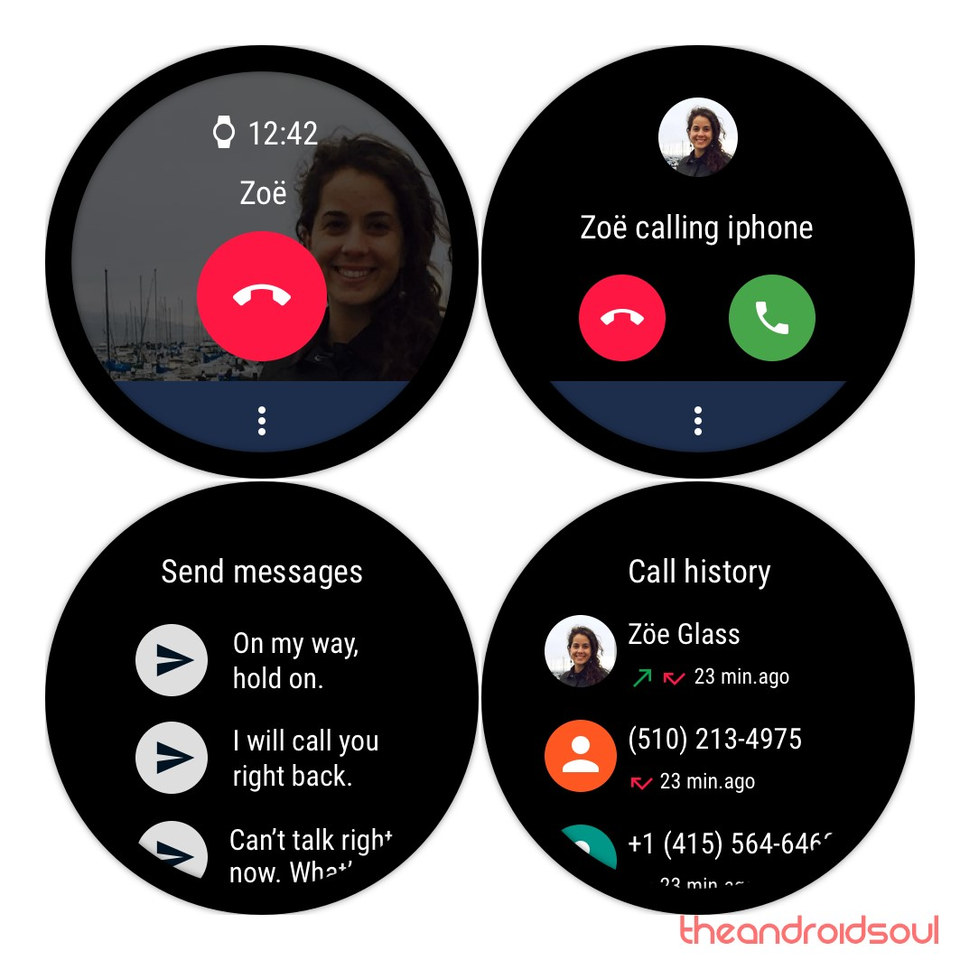 wear os phone android app