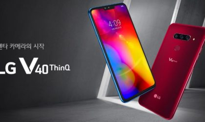 LG V40 ThinQ: The 5 camera phone