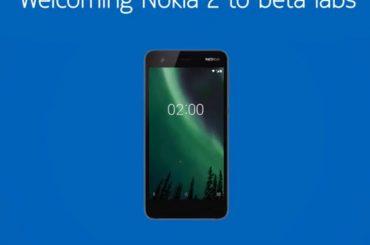Nokia 2 Oreo update