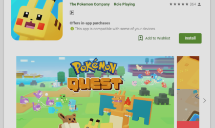 Pokémon Quest Android game now available on the Play Store for download