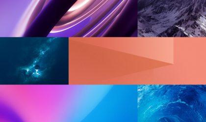 Download Vivo Nex stock wallpaper pack