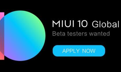 Xiaomi Mi 8 users wanted for MIUI 10 global beta testing program