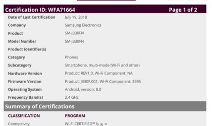 Samsung Galaxy J3 2017's Oreo update may arrive in August