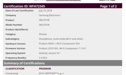 Android 8.1 Oreo for Galaxy J7 Neo, J7 Nxt and J7 Core is coming soon