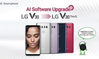 LG brings Android 8.0 Oreo for LG V30 Plus in India