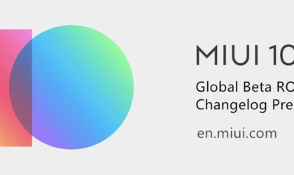 MIUI 10 global beta ROM 8.9.20 update introduces a whole lot of bug fixes