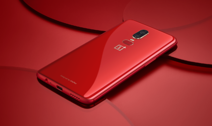 The Red OnePlus 6 is now available